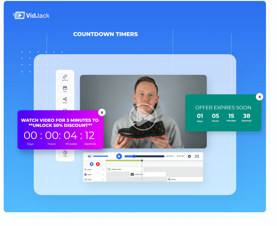VidJack countdown Timers